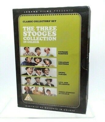 £20 • Buy The Three Stooges Vollectors Box Set Digitally Remastered