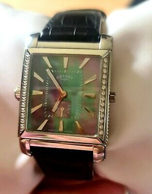 £50 • Buy Rotary Mens Revelations Reversible Mother Of Pearl Watch