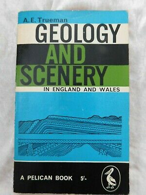 £6.99 • Buy Geology And Scenery In England And Wales By A E Trueman (Penguin Pelican, 1961)