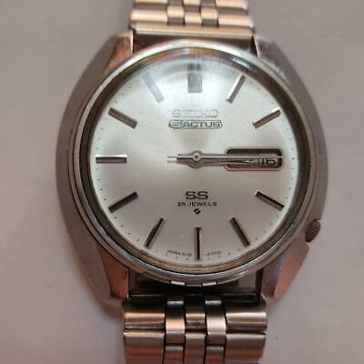 $ CDN150.47 • Buy Vintage Seiko 5 Actus SS 6106-8460 Automatic 25 Jewels Silver Dial Mens Watch