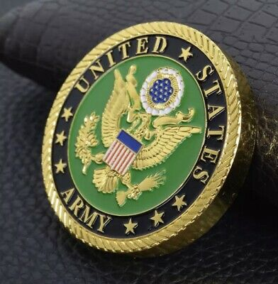 £6 • Buy 6mm United States Army Challenge Coin