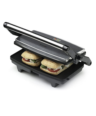 £24.99 • Buy Breville VST049 Cafe Style Sandwich Panini Toaster Press, Stainless Steel Silver