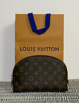 AU553.46 • Buy Louis Vuitton Cosmetic Pouch Gm Make Up Bag Large Perfect M47353