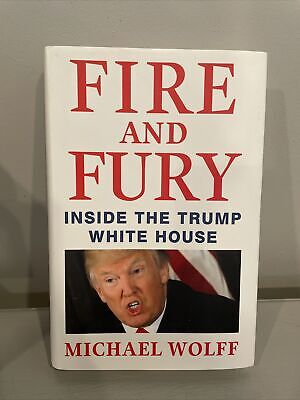 AU5.35 • Buy Fire And Fury : Inside The Trump White House By Michael Wolff (2018, Hardcover)