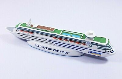 $68.06 • Buy Majesty Of The Seas 11'' Cruise Ship Model Royal Caribbean, Very Good Condition