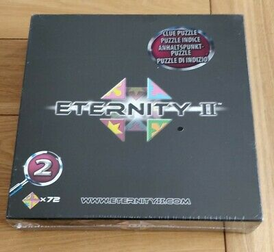 £10.99 • Buy  BRAND NEW WRAPPED Eternity II No 2 Puzzle Board Game - 72 Piece 2007 RARE