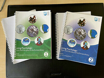 £20 • Buy Open University DD210 Investigating Psychology Books 1 & 2 And Both Part 2's