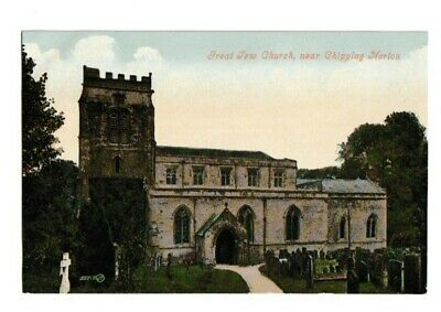 £1.20 • Buy Old Postcard Of Great Tew Church Near Chipping Norton (St. Michaels)