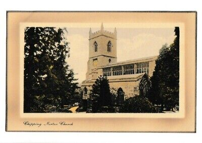 £1.20 • Buy Old Postcard Of Chipping Norton Church (St. Mary The Virgin)