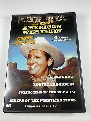 £2.31 • Buy 2003 The Great American Western: Gene Autry DVD Mack V. Wright(DIR) PreOwned