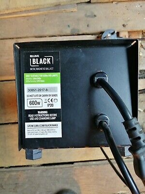 £10 • Buy LUMii BLACK Electronic Ballast 600W *used Great Condition *Collection From Leeds