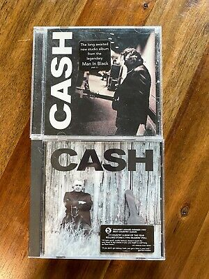 $ CDN6.21 • Buy Lot Of 2 Johnny Cash CDs : America III: Solitary Man & Unchained