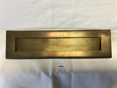 $34.99 • Buy Vintage Brass Mail Slot - USPS Mail - From A Retired Post Office 50's