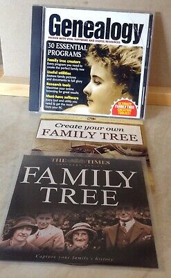 £0.80 • Buy Complete Pc Genealogy Plus Two Family Tree Cds
