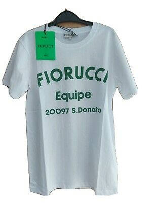 £4.30 • Buy Fiorucci  Equip T Shirt Size XS BNWT White And Green.
