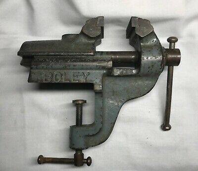 £195 • Buy Watchmakers, Jewellers Heavy Duty Boley 80mm Clamp On Vice. Lorch, Wolf Jahn.
