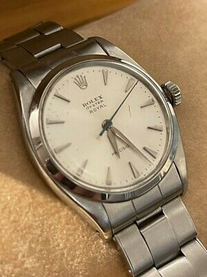 £2495 • Buy Rolex Oyster Royal Precision 6422 Watch, Vintage Apx 1960 34mm Steel Manual Box