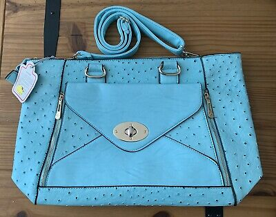£15 • Buy Brand New With Tags - Turquoise Shoulder Bag By Move And Moda RRP £26.99!