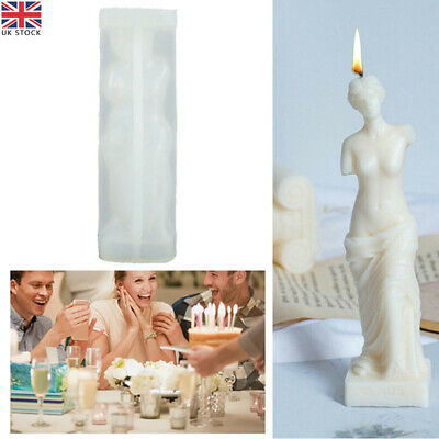 £7.39 • Buy 3D Silicone Art Body Perfume Candle Mold DIY Soap Wax Resin Making Mould Tools