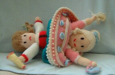 £14.99 • Buy Hand Knitted CINDERELLA Topsy-turvy Doll - 14  ~ Jean Greenhowe