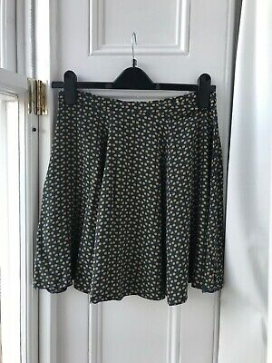 £1.40 • Buy Skater Skirt, Dark Blue With Yellow Ditsy Pattern, Urban Offitters 10