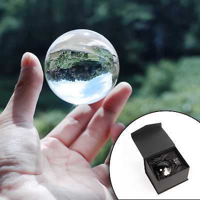 $14.69 • Buy Clear Crystal Ball 60mm K9 Glass Lens Sphere Photography & Decoration M&W