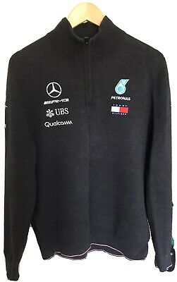 £20 • Buy Mercedes AMG Petronas Formula One Team Issued Sweater Jumper Size Men's Large