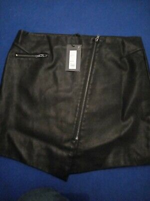 £3.50 • Buy Womens Skirt Size 16 Brand New With Labels, Faux Leather.