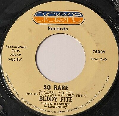 $3 • Buy Cool Jazz 45 BUDDY FITE So Rare / They Can't Take That Away From Me CYCONE Mp3