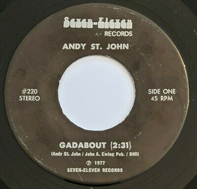 $3 • Buy Gospel 45 ANDY ST. JOHN Gadabout /Come On In Lord On SEVEN-ELEVEN Records Mp3