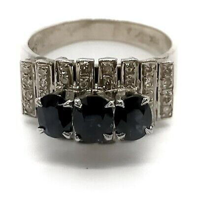 AU7.25 • Buy Jewelry Ring   Sapphire Silver Blue  1809302