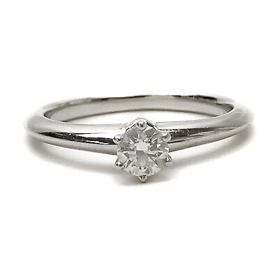 AU1.30 • Buy Tiffany And Co. Ring  Solitaire Diamond 0.22ct Platinum 1810858