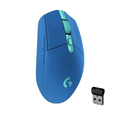AU0.99 • Buy Logitech G305 Lightspeed Wireless Gaming Mouse- Blue - 99 Cent Auction!!