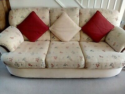 £25 • Buy Luxury Sofa Suite Set: 3 Seater & 2 Armchairs (comfortable, Extra Padded Seats)