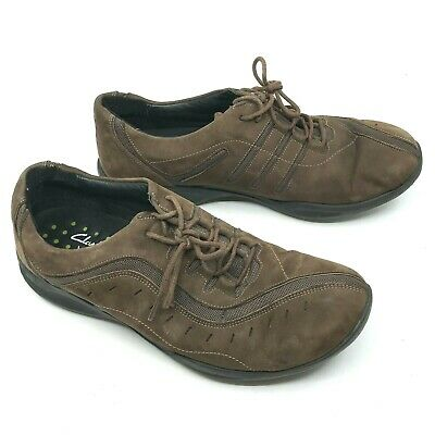 £17.93 • Buy Women's CLARKS WAVE 86509 Brown Leather Lace-Up Walking Shoe Oxford Size10M [18]