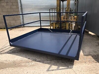 £2750 • Buy Forklift Loading Platform Shipping Container Loading 2.4m Wide X 2.2m Depth
