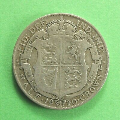 £9.95 • Buy 1920 George V Silver Half-Crown Two Shillings And Sixpence SNo61171