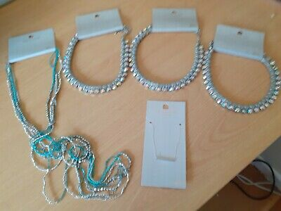 £2.50 • Buy Topshop Freedom Costume Jewellery Set Of Of 5 Necklaces - New