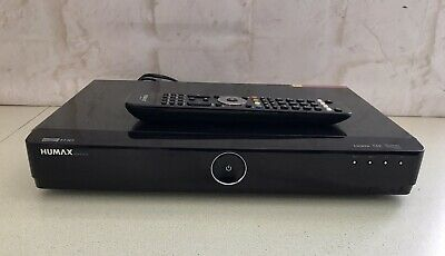 £69.99 • Buy HUMAX HDR-FOX T2 500GB Freeview HD HDMI Digital TV Recorder Working With Remote