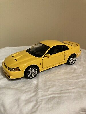 $399 • Buy Maisto 1/18 2003 Ford SVT Mustang Cobra Yellow Extremely Rare!!!!
