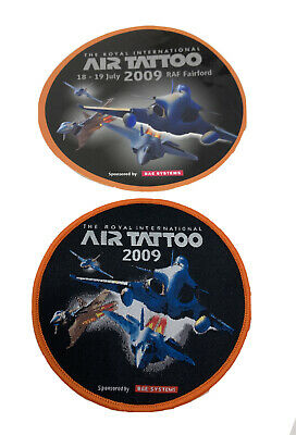 £8.80 • Buy The Royal International Air Tattoo 2009 Airshow Black Orange Background Patch
