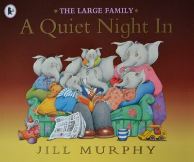 £2.99 • Buy The Large Family – A Quiet Night In By Jill Murphy [Paperback]