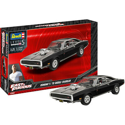 £28.99 • Buy Revell 07693 Fast & Furious Dominic's 1970 Dodge Charger Car Model Kit 1/25