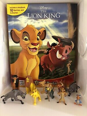 £12.99 • Buy Disneys The Lion King Guard Busy Book - 10 Figures + Playmat Brand New Uk Stock