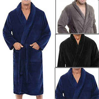 AU21.88 • Buy Unisex Luxury Egyptian 100% Cotton Terry Towel Towelling Bath Robe Dressing Gown