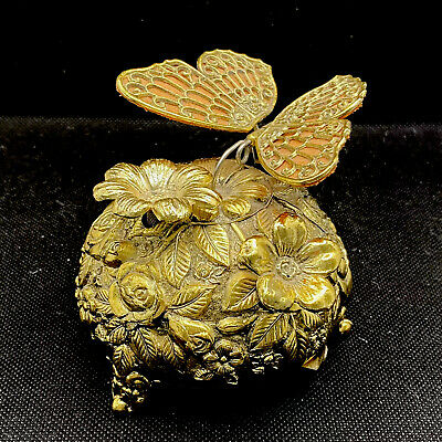 £115.15 • Buy Vintage Butterfly Moving Wings Automaton Mechanical Wind Up Music Box Westland