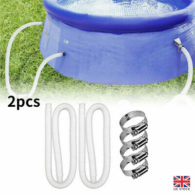£9.45 • Buy Intex Accessory Hose 32mm Swimming Pool Tools For Pump/Filter/Heater Pipe X 1.5M