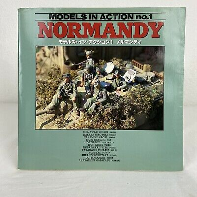 $23.85 • Buy Normandy 1944 Afv Diorama Models In Action Pictorial Book, Dainippon Kaiga Japan