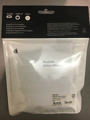 $41.25 • Buy Genuine Apple Mac MagSafe Airline Power Adapter - MB441Z/A - Brand New