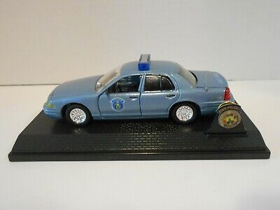 $7.99 • Buy 1999 Maine State Police. Ford Crown Victoria, Road Champs Police Car W/pin